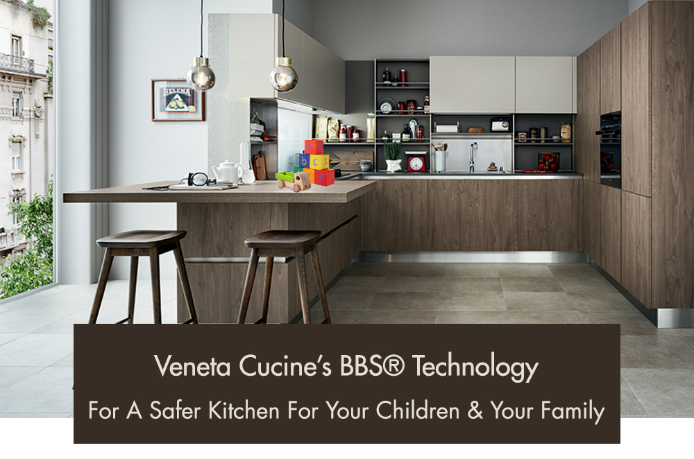 How Veneta Cucine's Kitchens Safeguard Your Children and Family