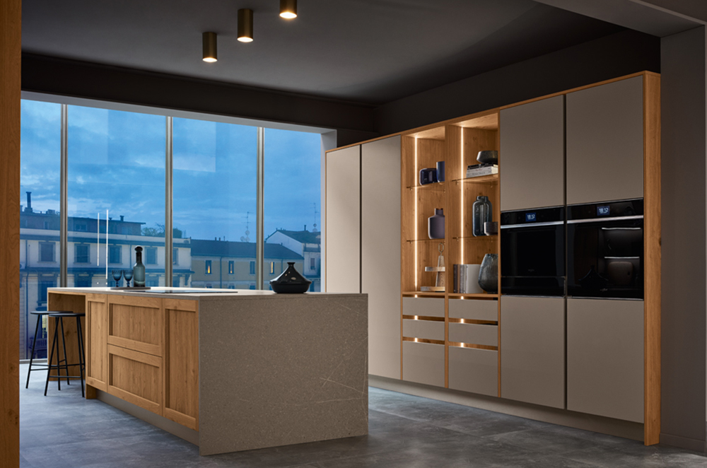 Built-in Appliances - The Art of Highly Functional yet Compact Modular Kitchens
